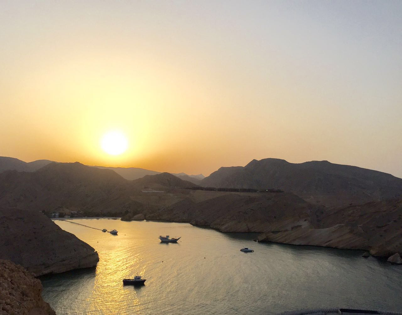 A new dawn set for Oman beauty spot