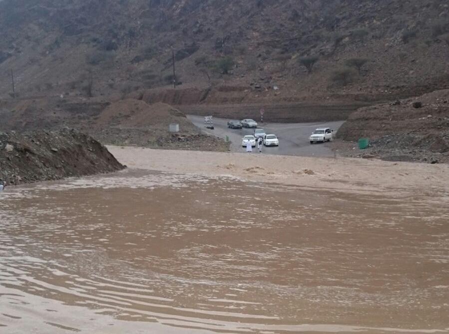 Fresh rain in Oman