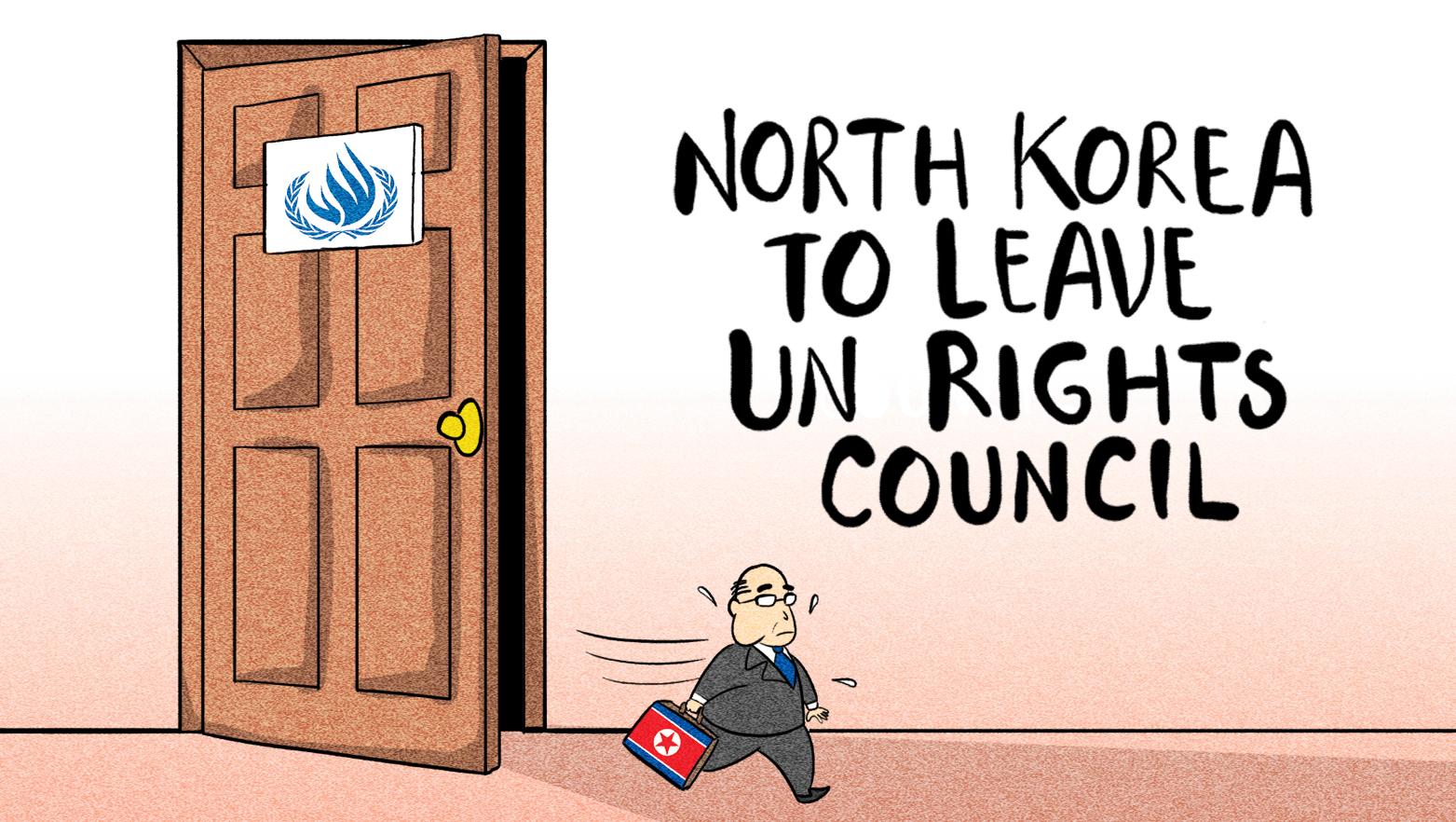 North Korea to leave UN Rights Council