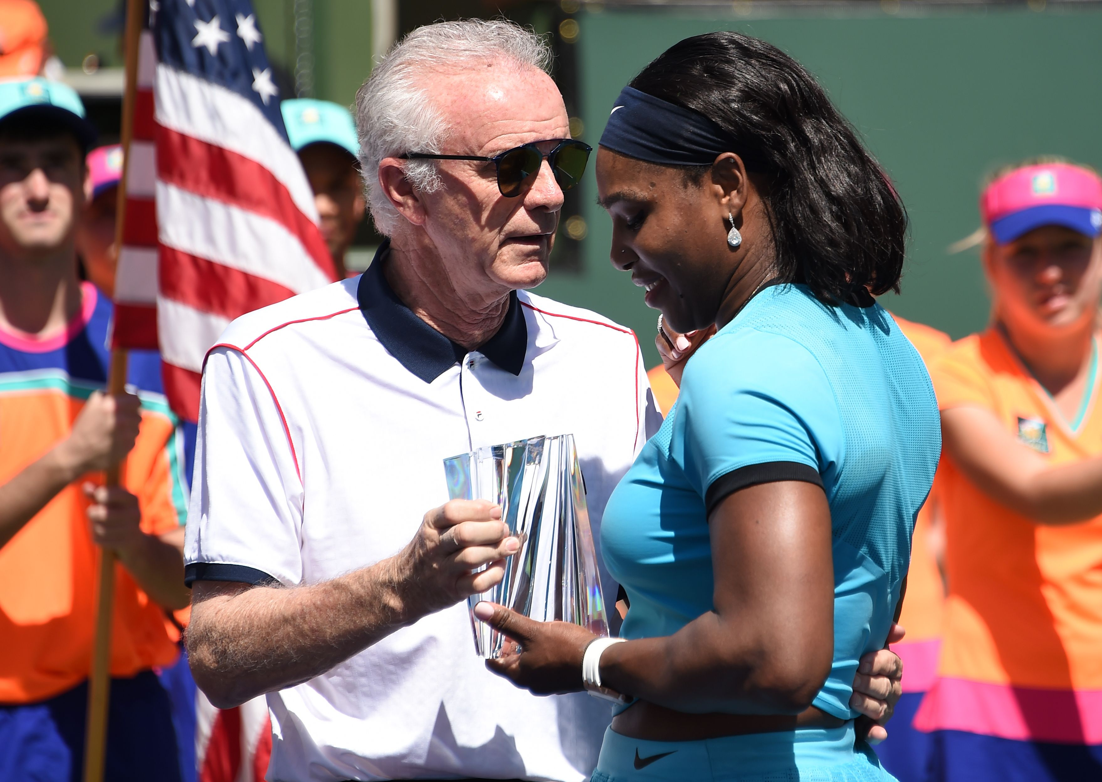 Indian Wells CEO says women 'ride on the coattails' of men