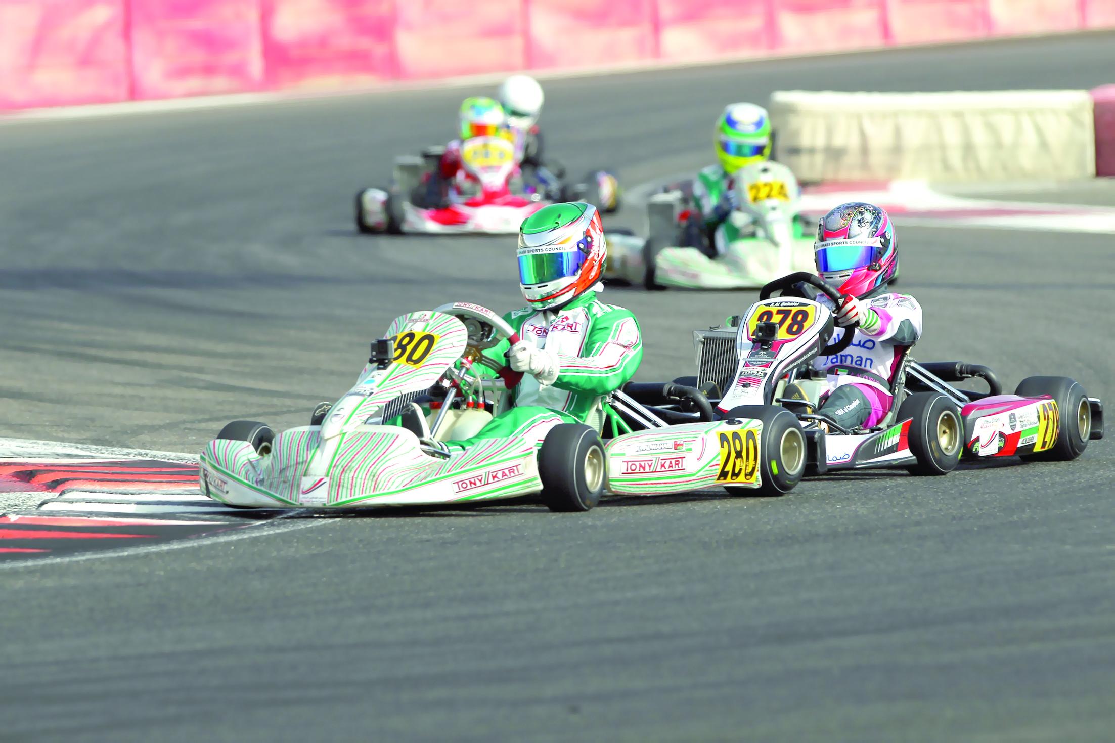 فريق الوهيبي للسيارات بطلاً لسباق «أكس 30 للكارتينج»