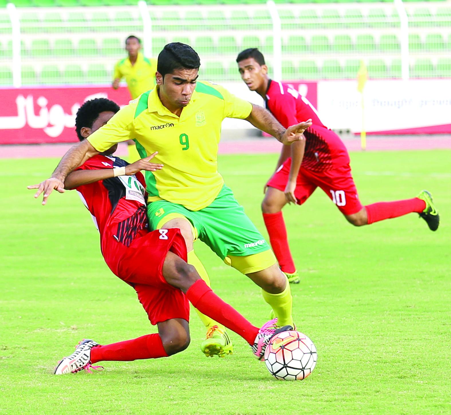 السيب والسلام إلى نهائي دوري الشباب لكرة القدم