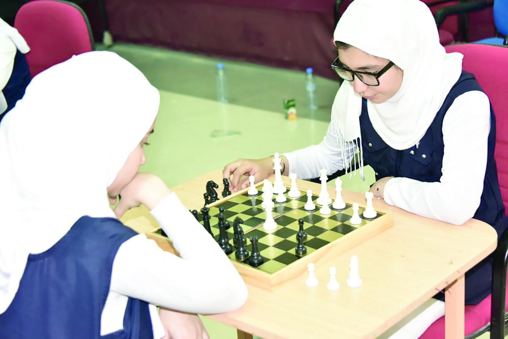 تعليمية الوسطى تختتم تصفيات بطولة اﻷيام اﻷولمبية للإناث