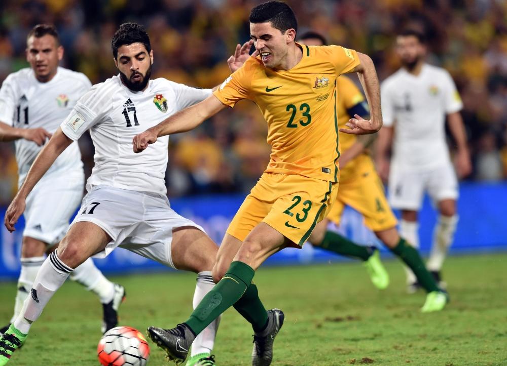 هزيمة النشامى تصعد بأستراليا وسوريا إلى الدور الثالث بتصفيات المونديال