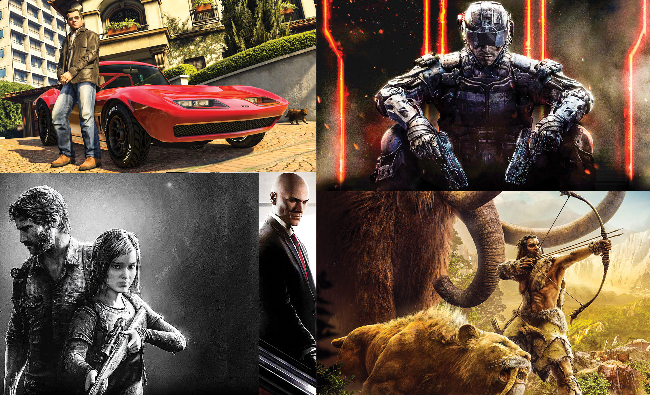Five Video Games to Try