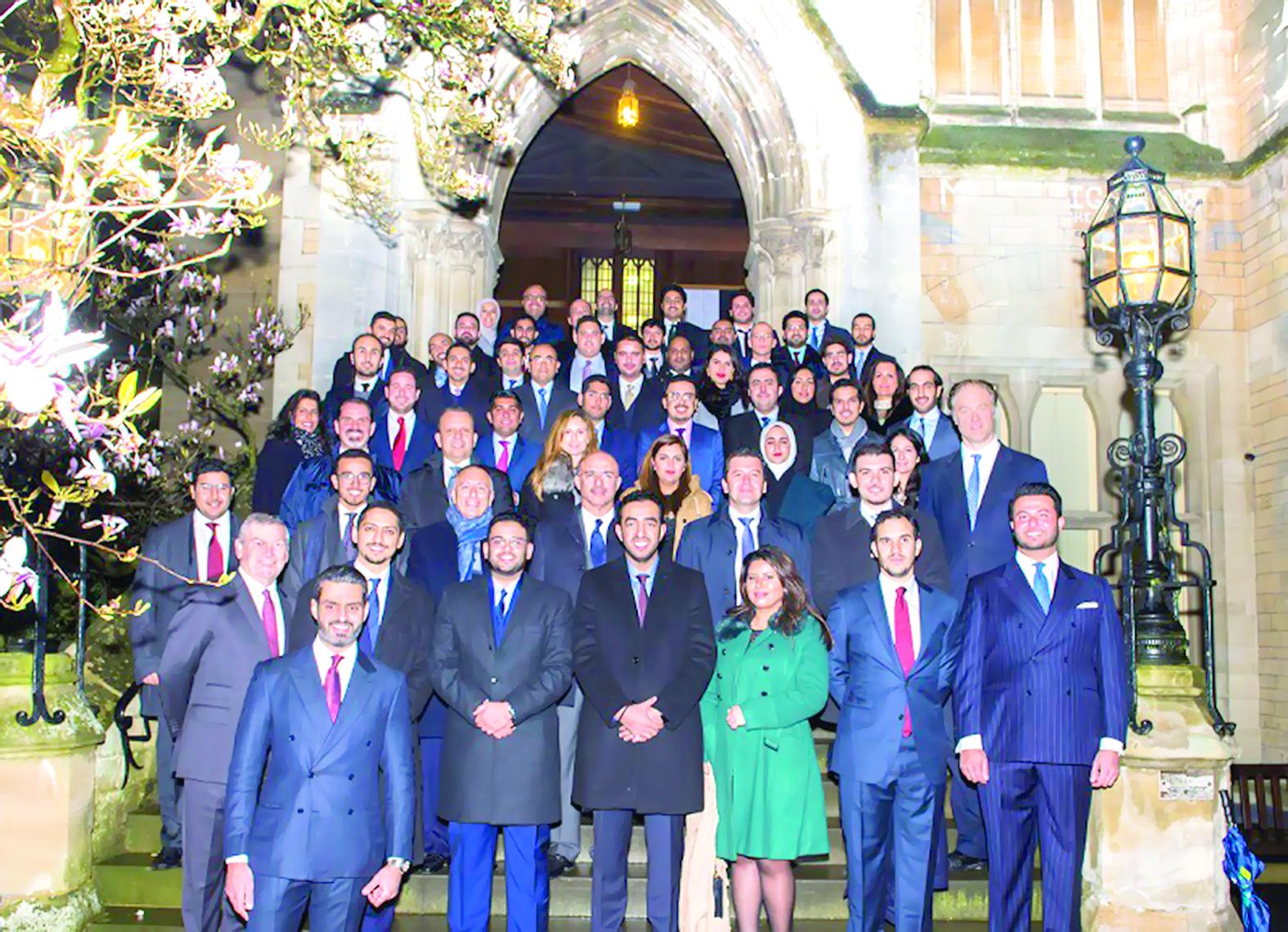 إنفستكورب يستضيف برنامجاً لقادة الأعمال الشباب في أوكسفورد