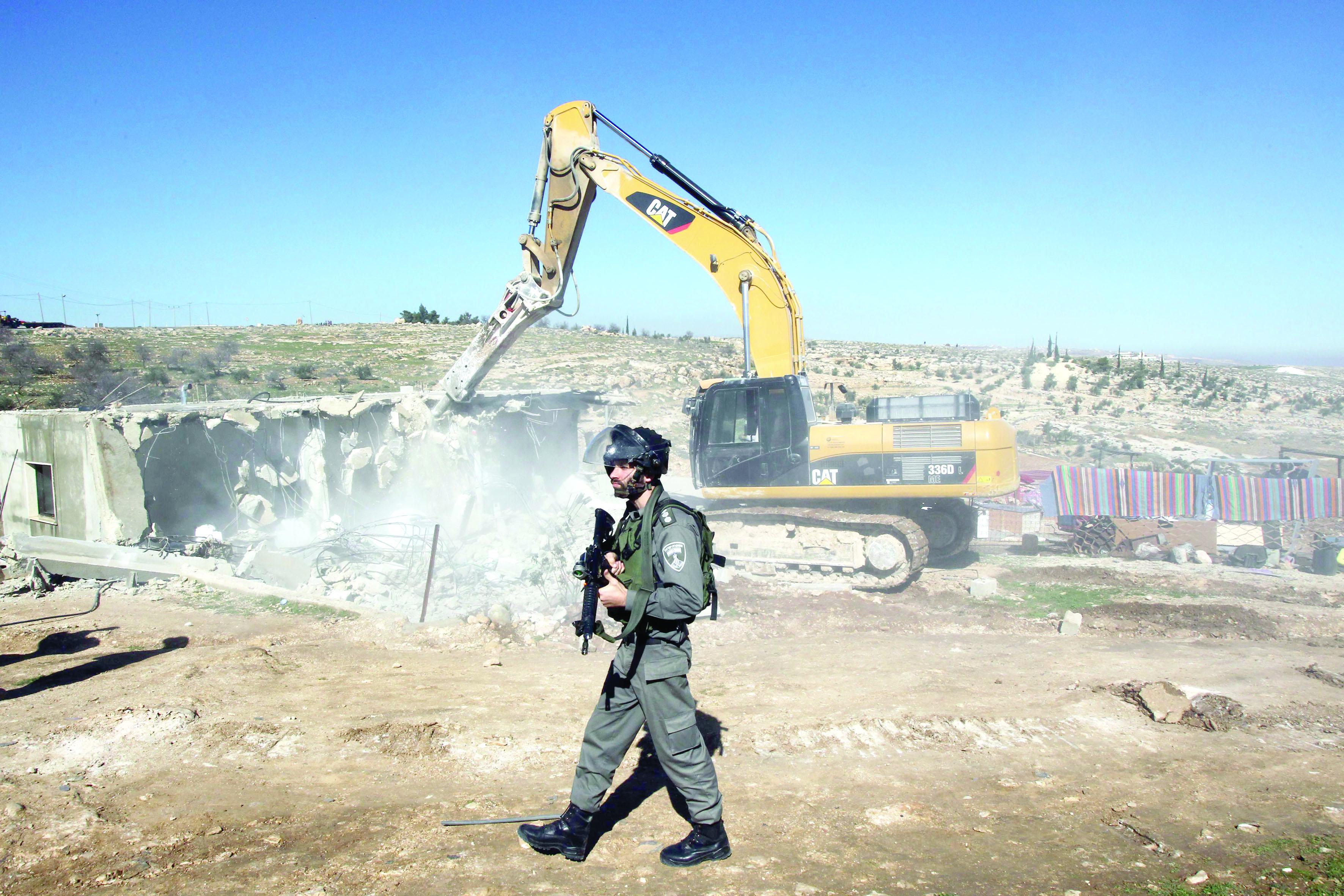 هدم منازل الفلسطينيين.. يتصاعد