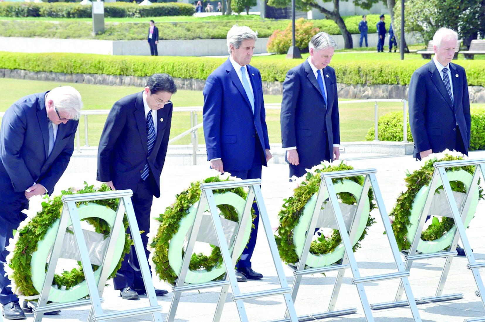 """يوم """"تاريخي"""" في هيروشيما"""