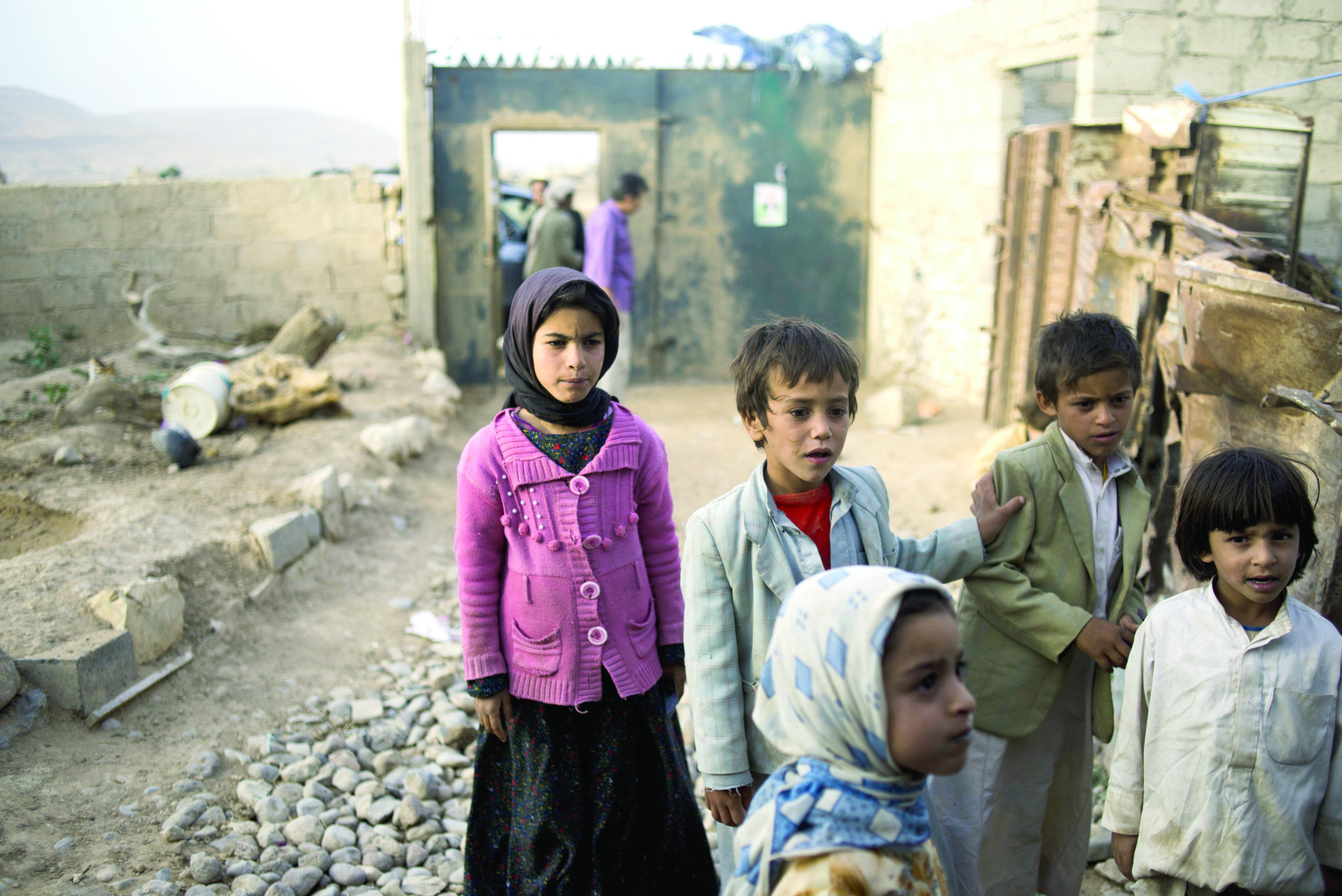 900 طفل يمني قتلوا خلال العام 2015