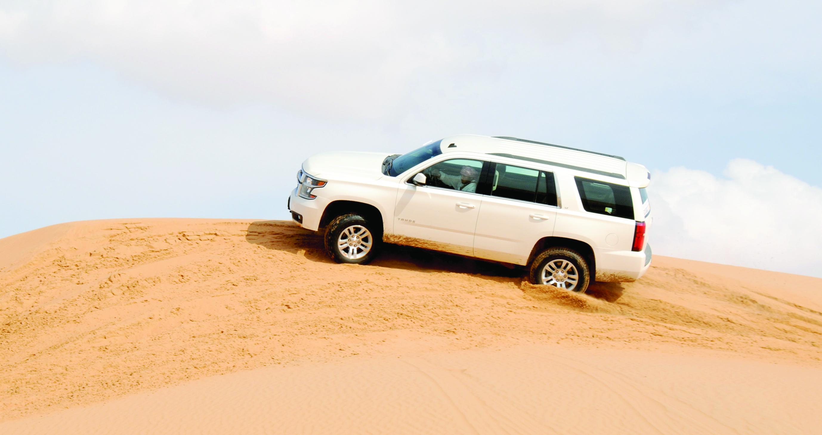 تجربة غنية لشفروليه في قلب الصحراء