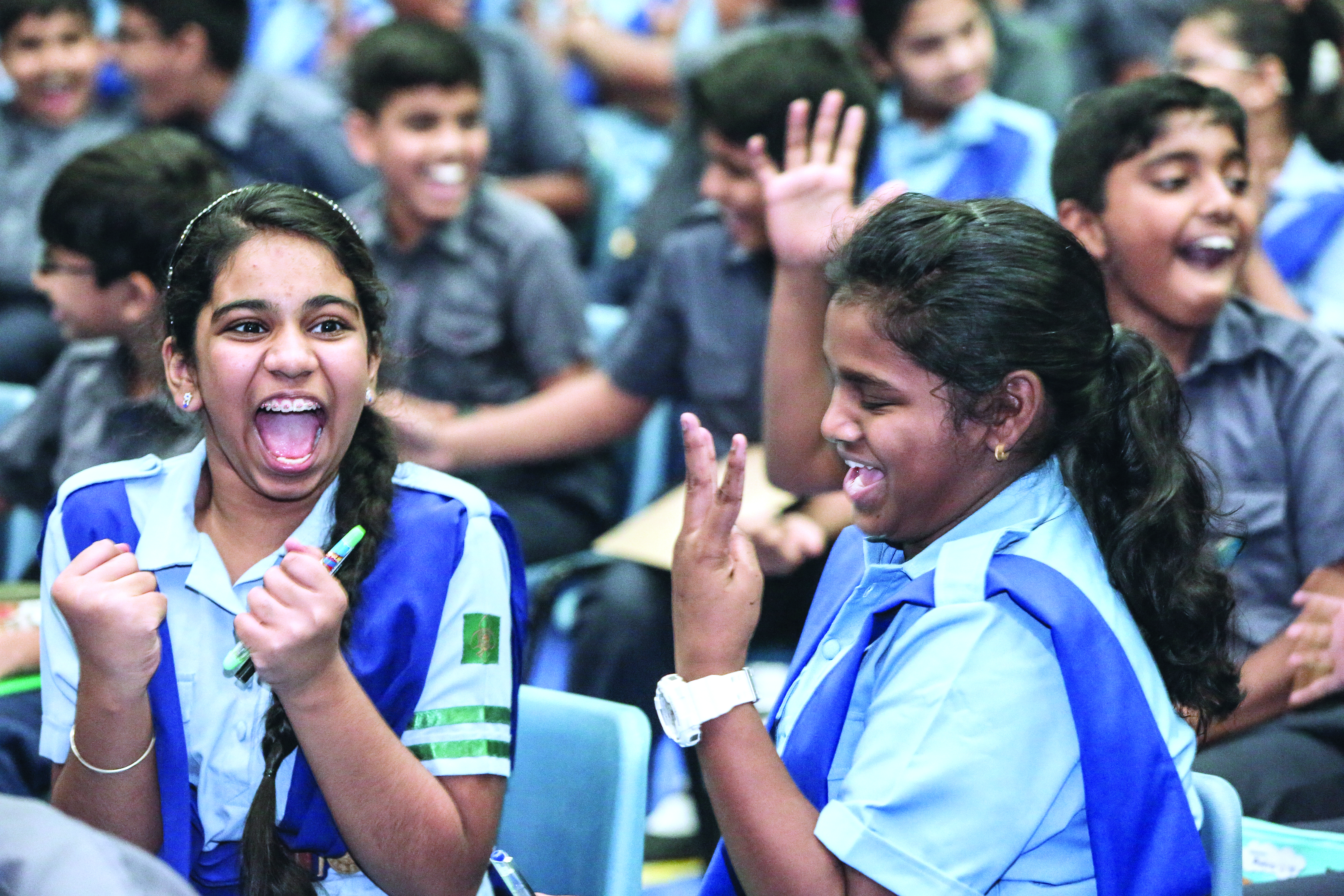 Times of Oman quiz challenge reaches Indian School Muscat