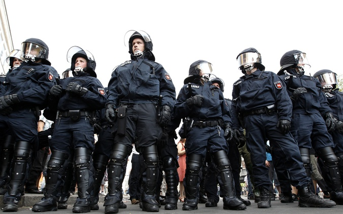 الشرطة الألمانية ستشارك في تأمين يورو 2016 فرنسا