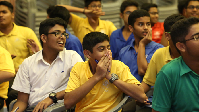 More than 350 students take part in 3rd preliminary of Times of Oman quiz