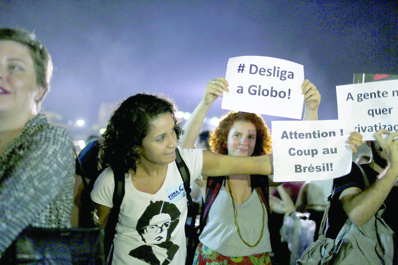 الرئيسة البرازيلية تتهم نائبها بالتآمر عليها