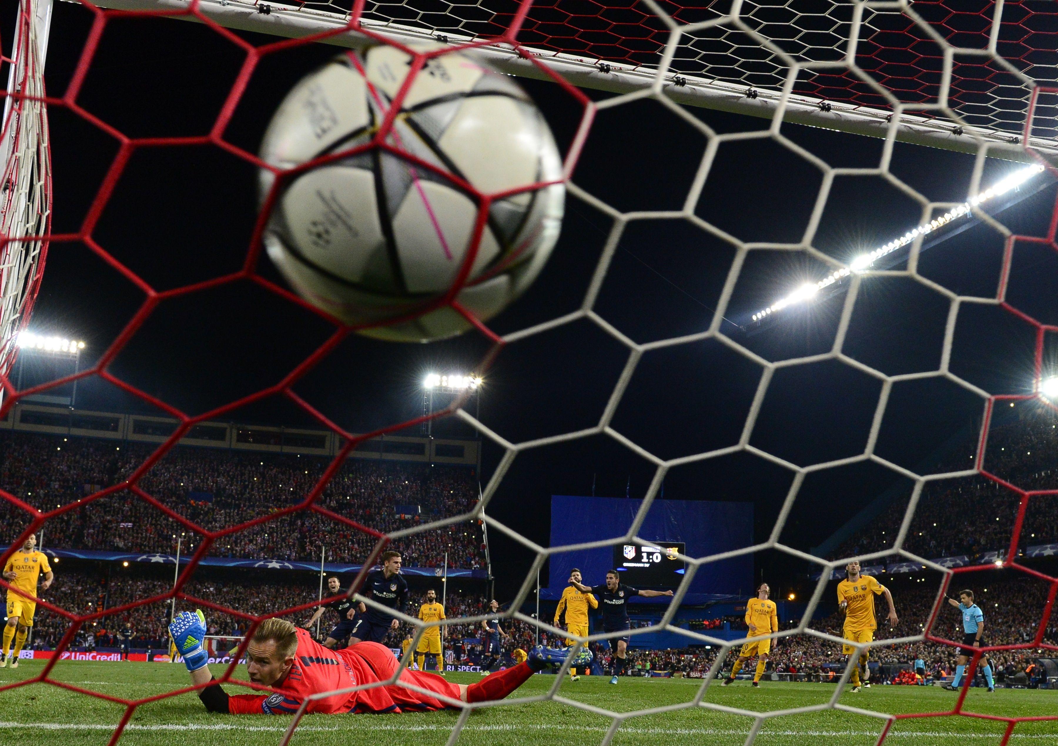 بقيادة الجنرال سيميوني..أتلتيكو مدريد يقصي برشلونة من دوري الأبطال