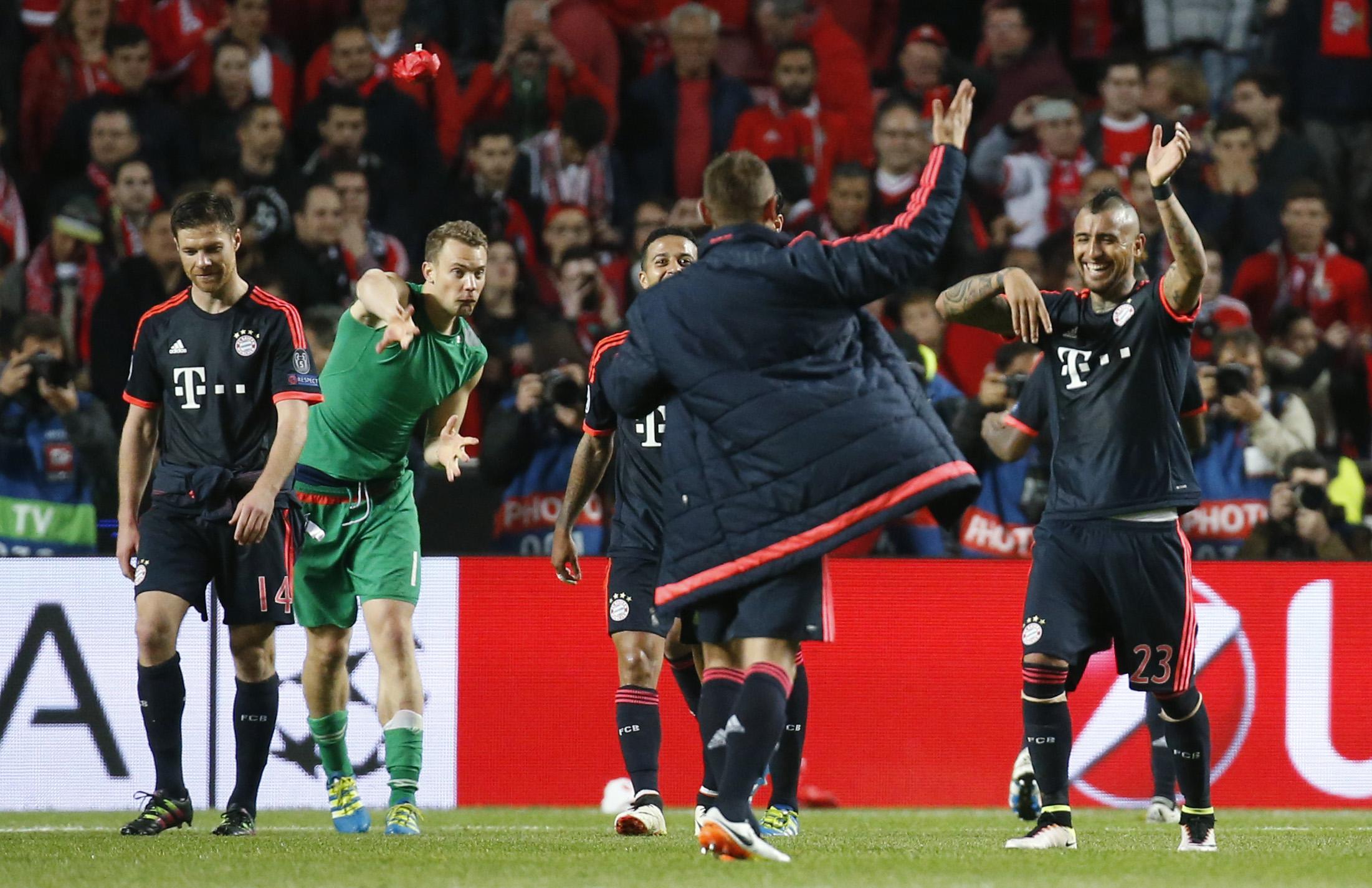 بايرن ينهي مغامرة بنفيكا ويصعد لقبل نهائي دوري أبطال أوروبا