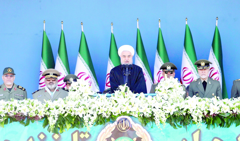 الرئيس الإيراني : قوتنا من قوة جيراننا