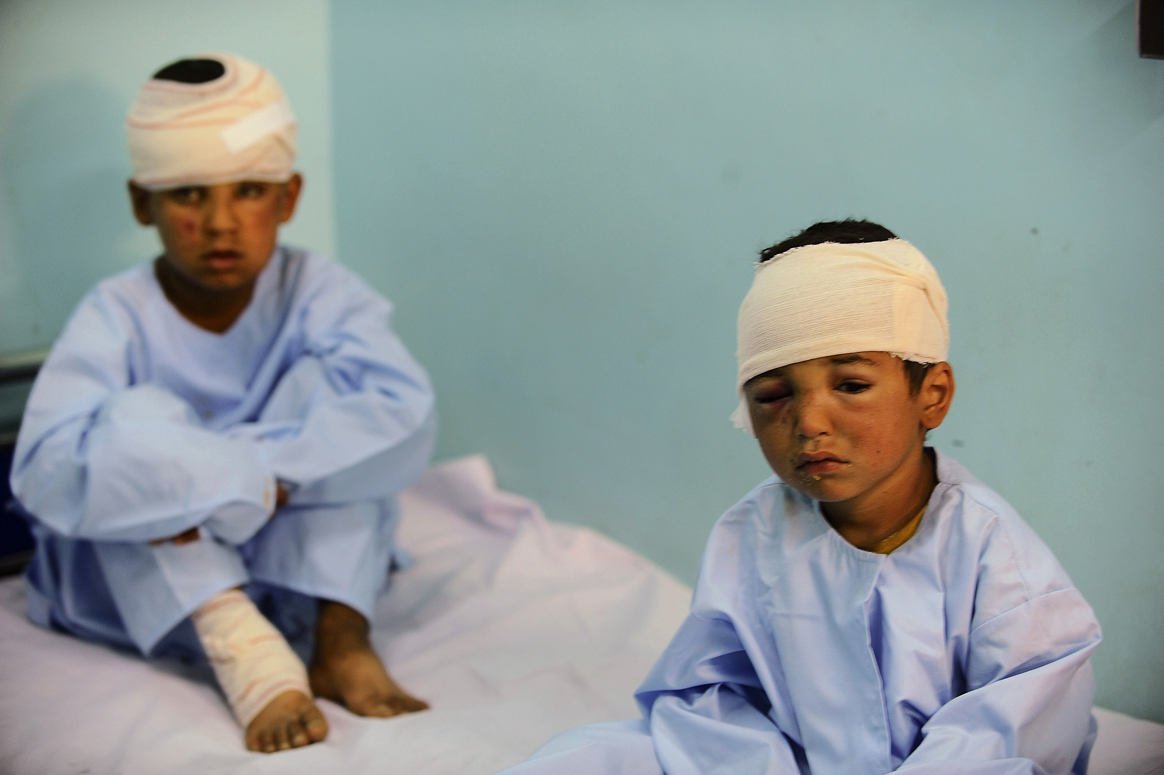Afghan child casualties soar as urban warfare intensifies: UN