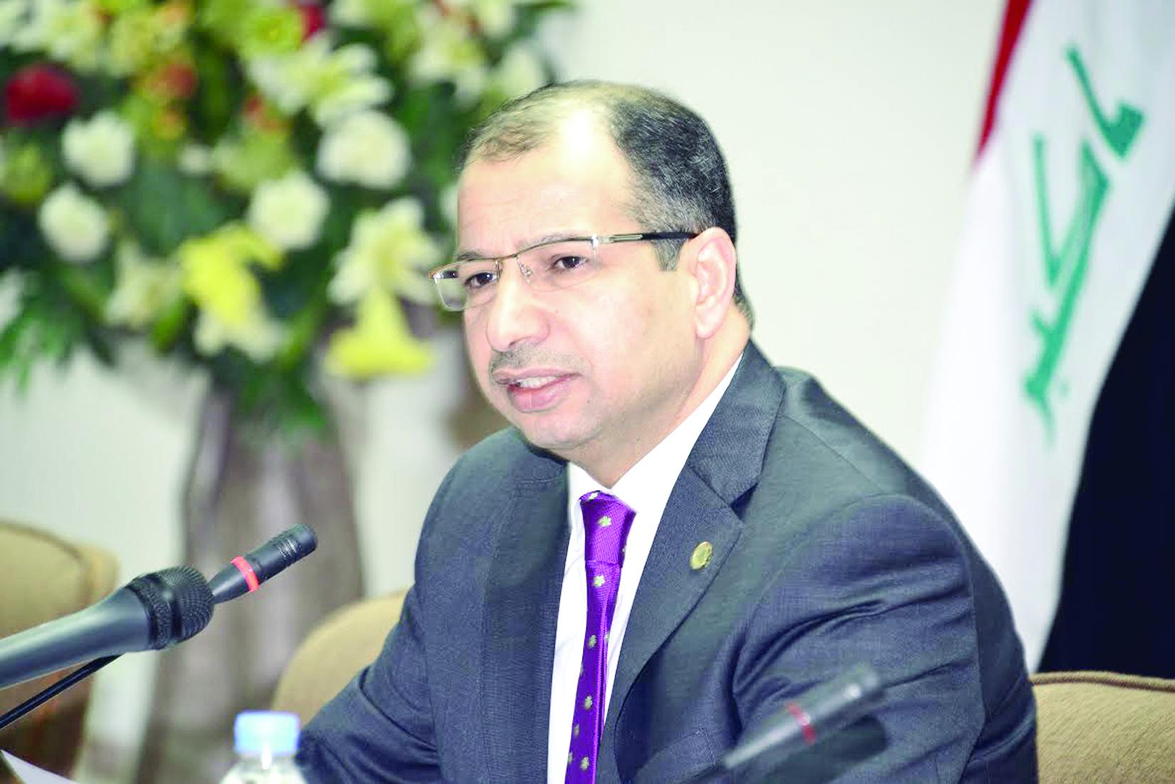 الجبوري: عقد جلسة شاملة للبرلمان العراقي خلال أيام