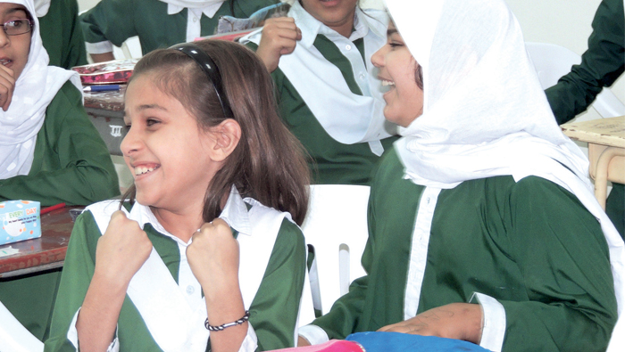 300 Pakistan School Muscat students take part in Times of Oman quiz
