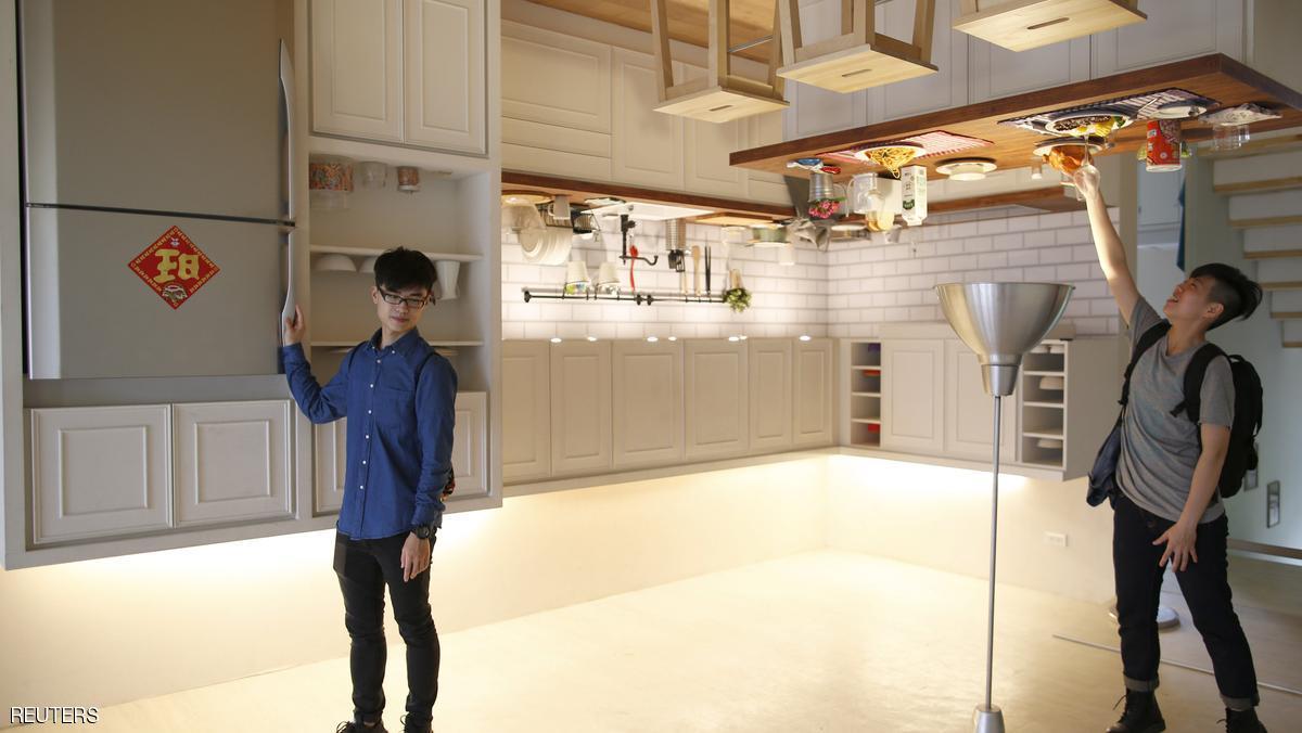 بالصور: المنزل المقلوب لم يعد حلما أو مشهداً خيالياً