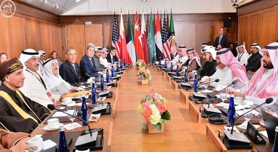 بدء أعمال اجتماع القمة الخليجية - الأمريكية