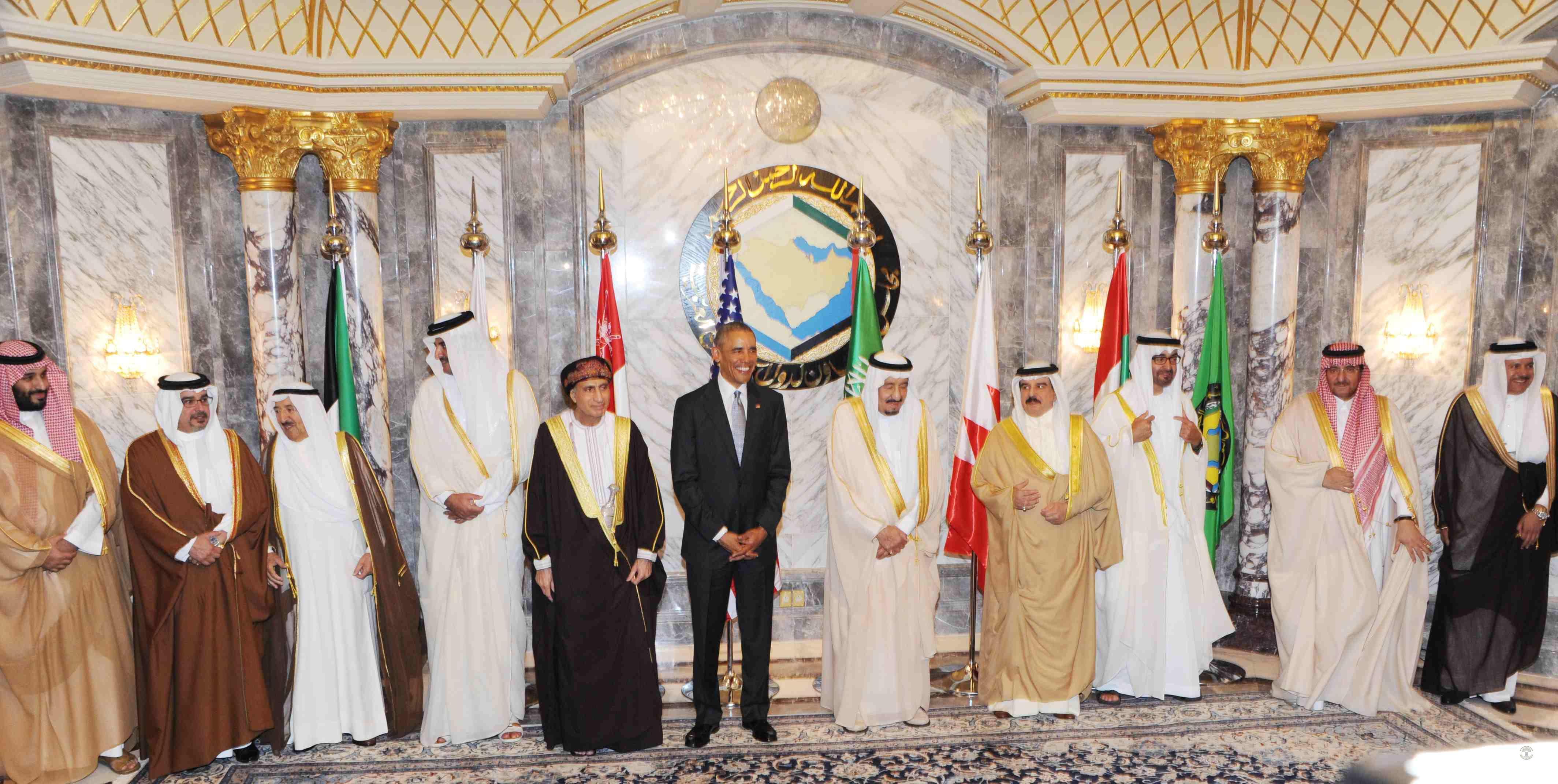 القمة الخليجية - الأمريكية في صور