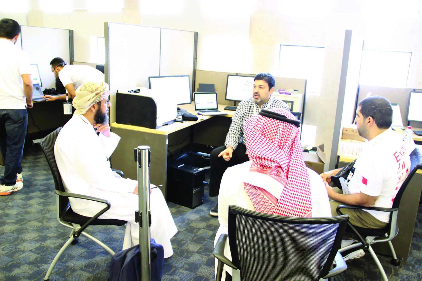 """السلطنة تشارك في """"المهارات المهنية الخليجية"""" في السعودية"""