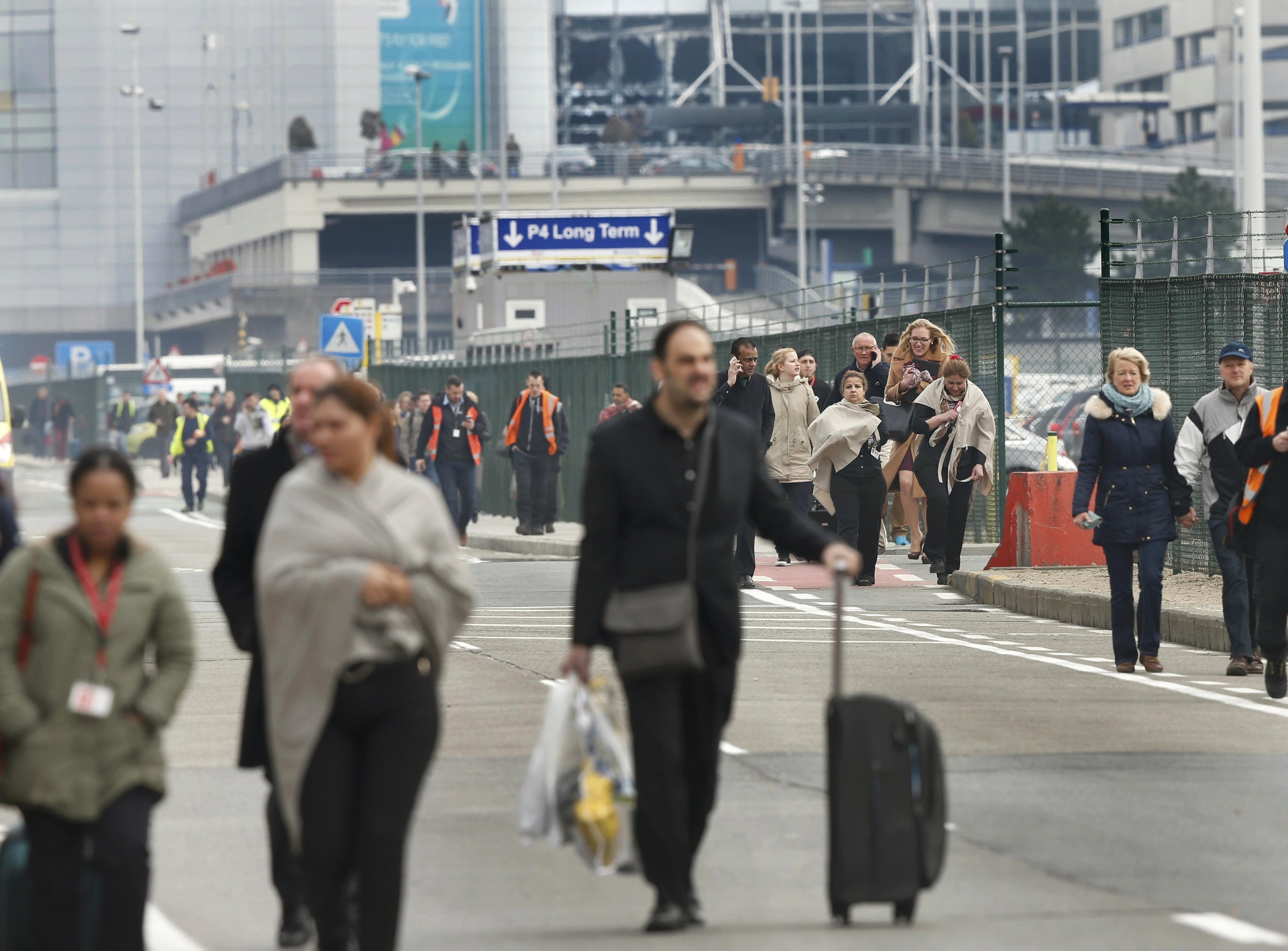 محطة مترو مالبيك في بروكسل تفتح من جديد