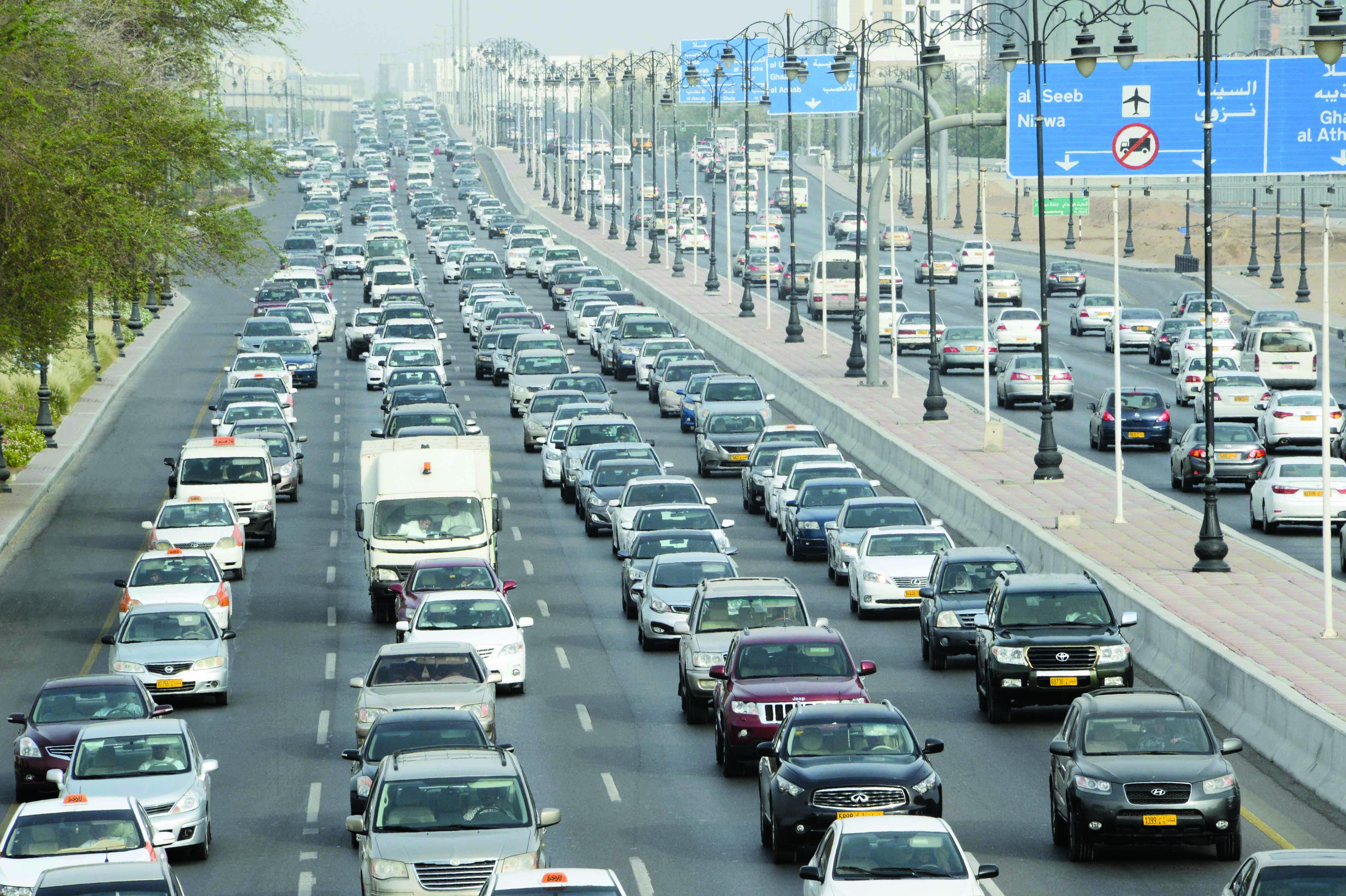 ارتفاع نسبة تسجيل المركبات الحكومية  بنهاية مارس الفائت بنسبة  52.1 بالمائة