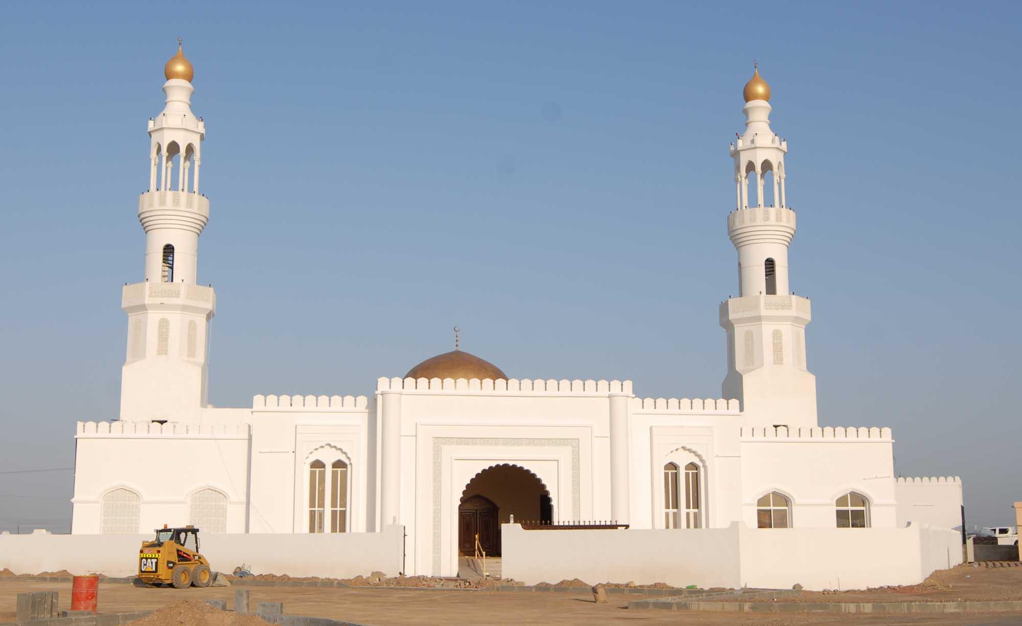 """بتكلفة 260 ألف ريال عماني ..الانتهاء من مشروع """"جامع السلام"""" بالمضيبي"""