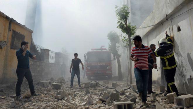 """تركيا """"تتفق مع أمريكا"""" على نشر مضادات أمريكية للصواريخ على حدودها مع سوريا"""