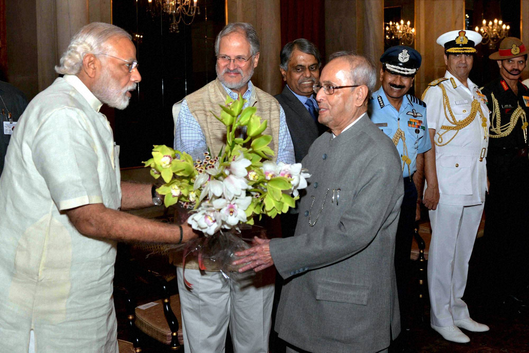 President Pranab Mukherjee leaves for six-day visit to Papua New Guinea, New Zealand