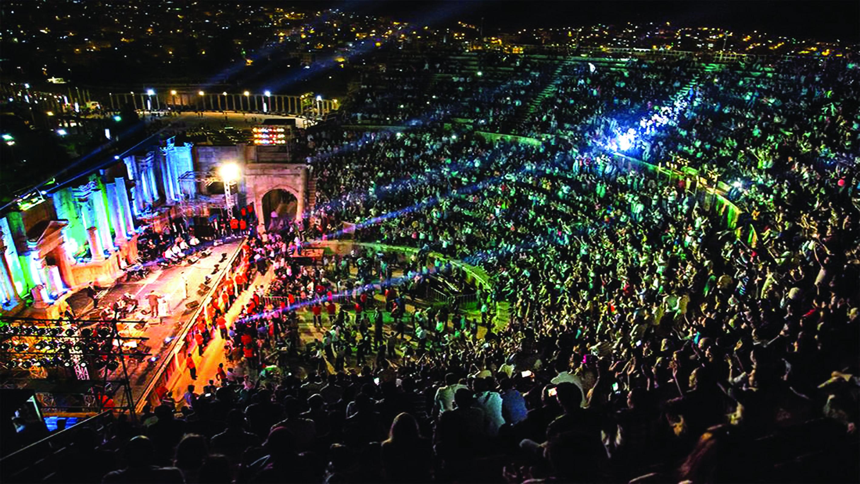 مهرجان جرش يوقد شعلته في يوليو المقبل