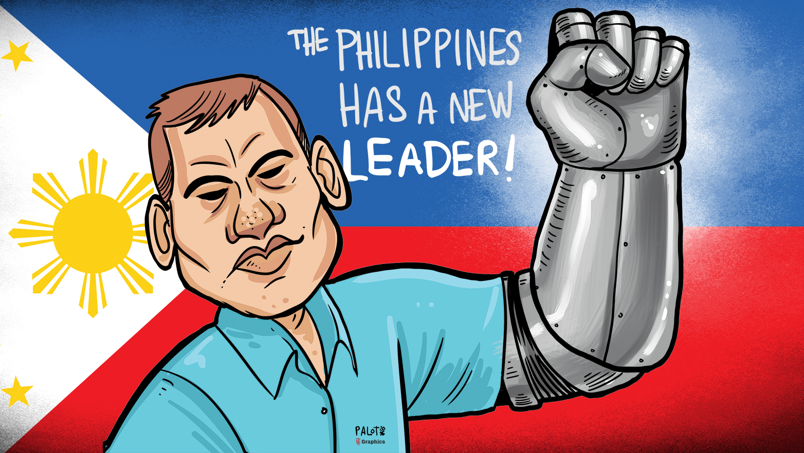 The Philippines has a new leader