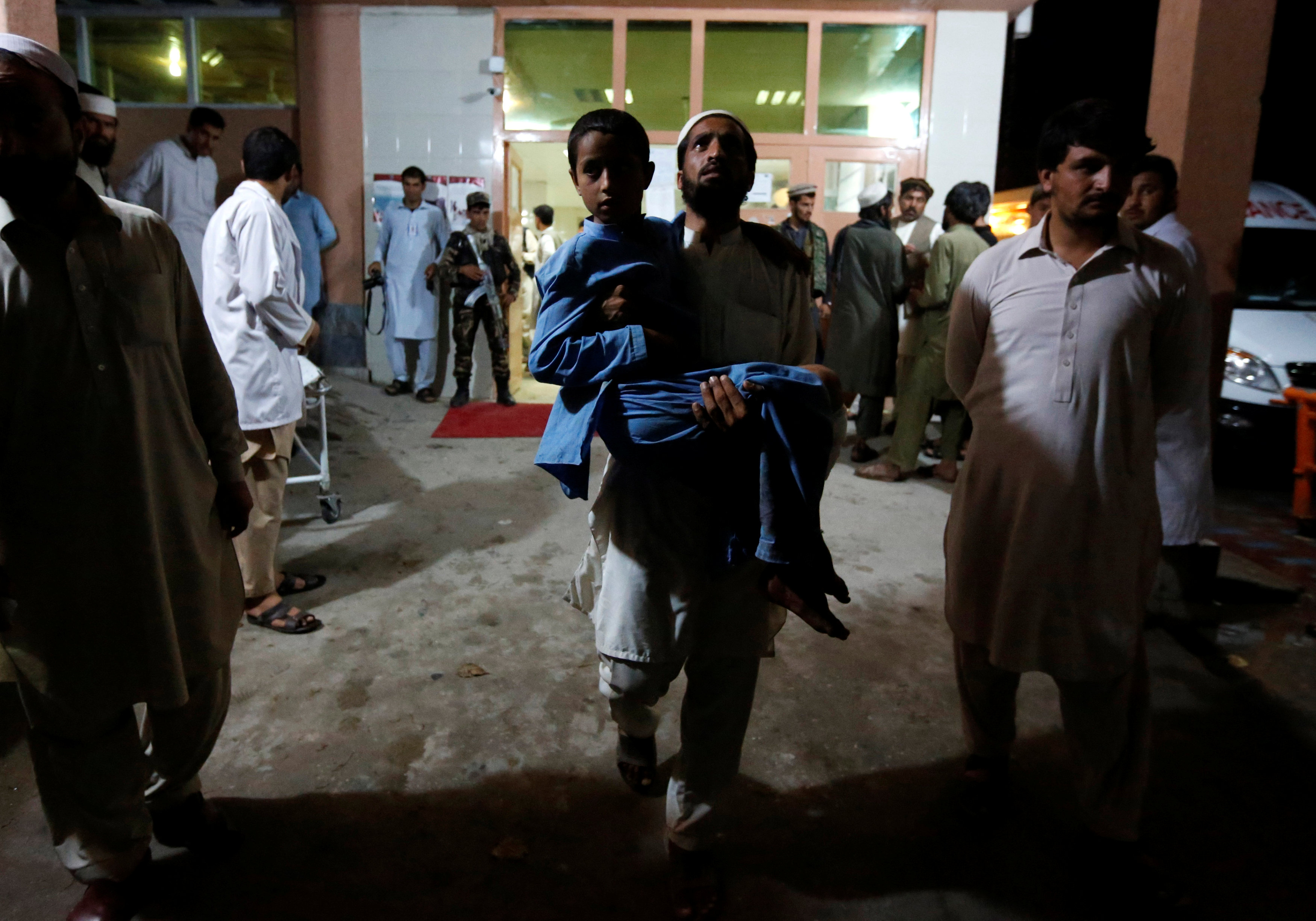 At least 10 killed in Afghan suicide bombing