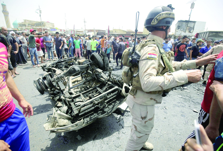 داعش يتبنى تفجير مدينة الصدر العراقية