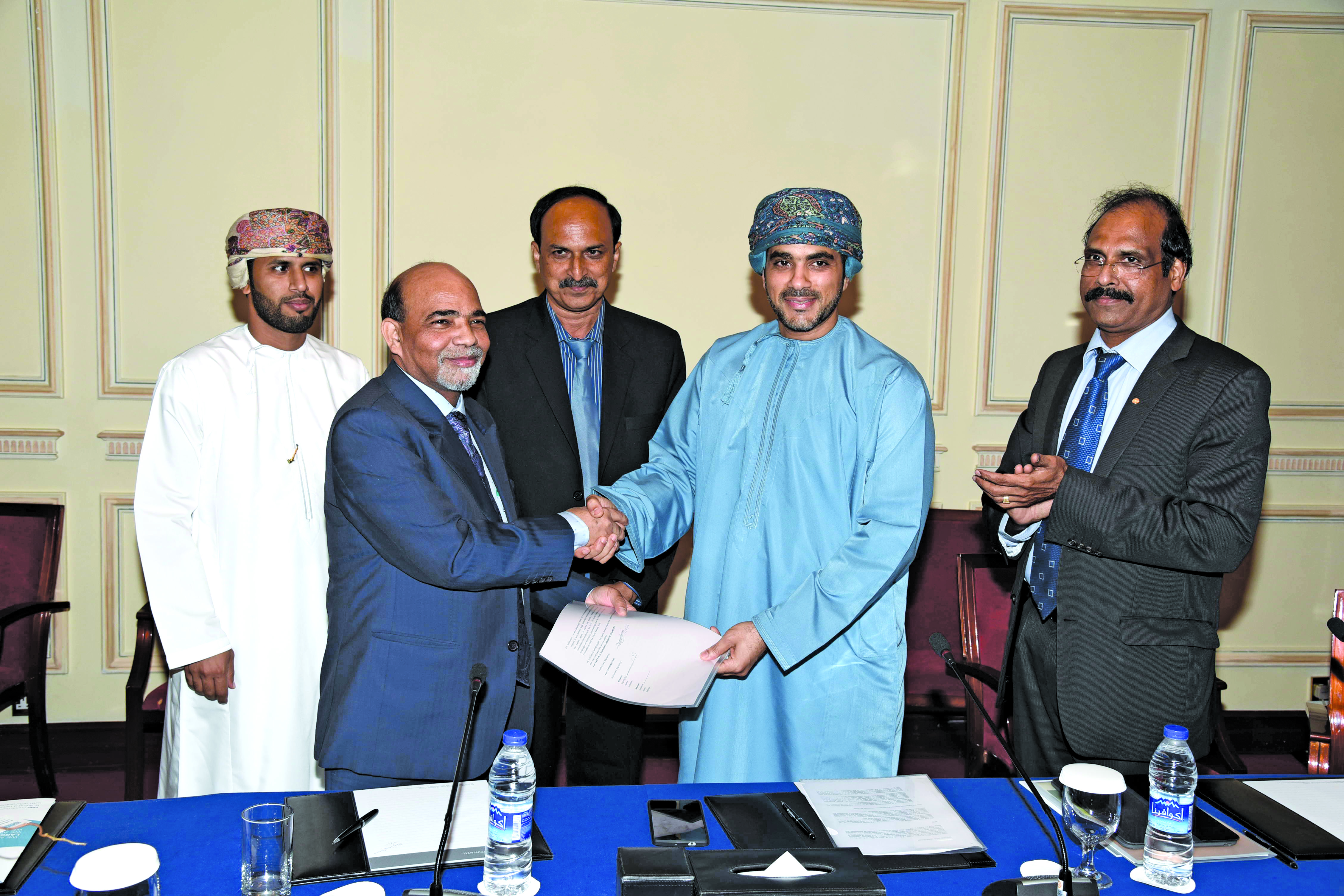 Indian firm launches cost-effective building material in Oman