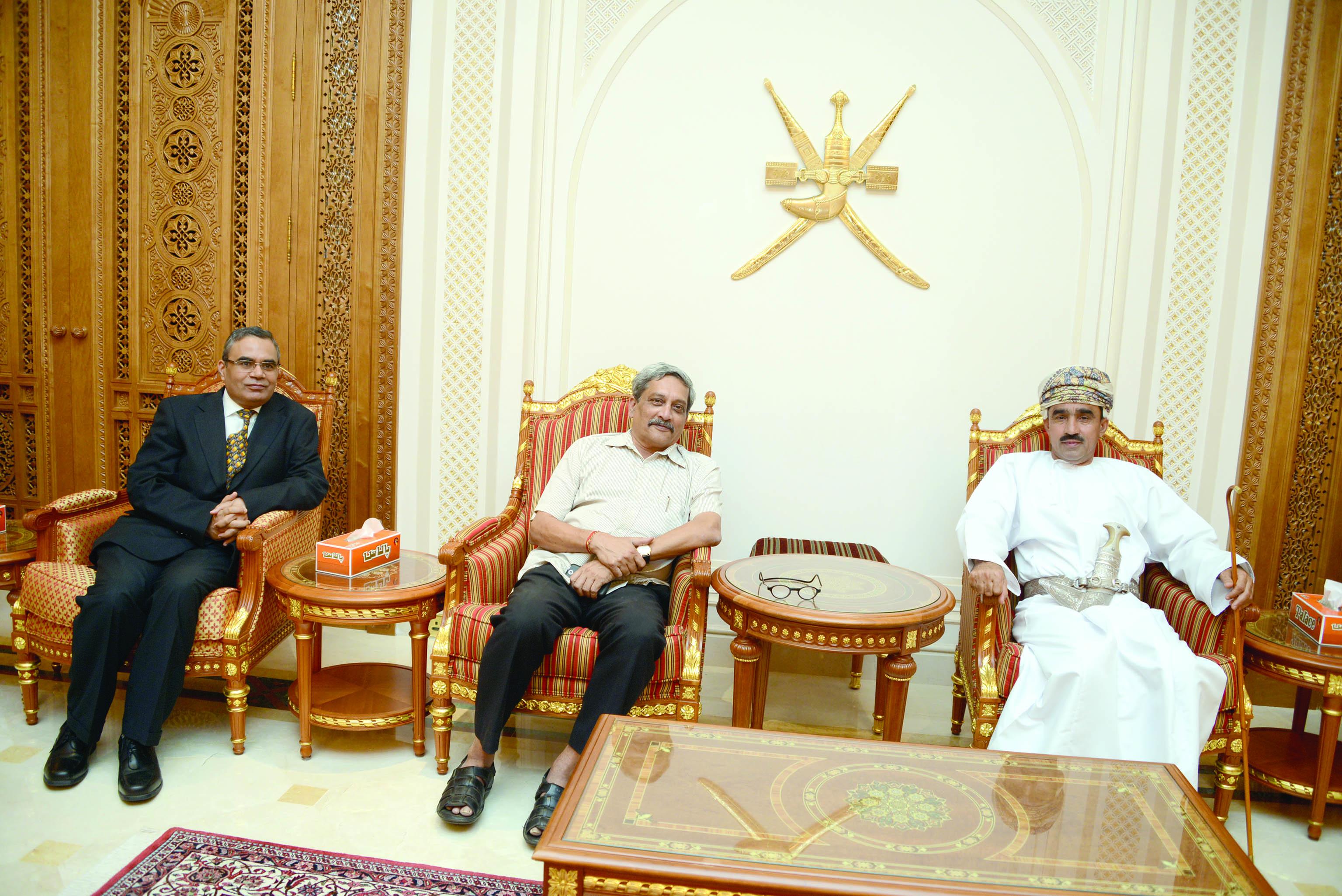 وزير الدفاع الهندي يزور السلطنة