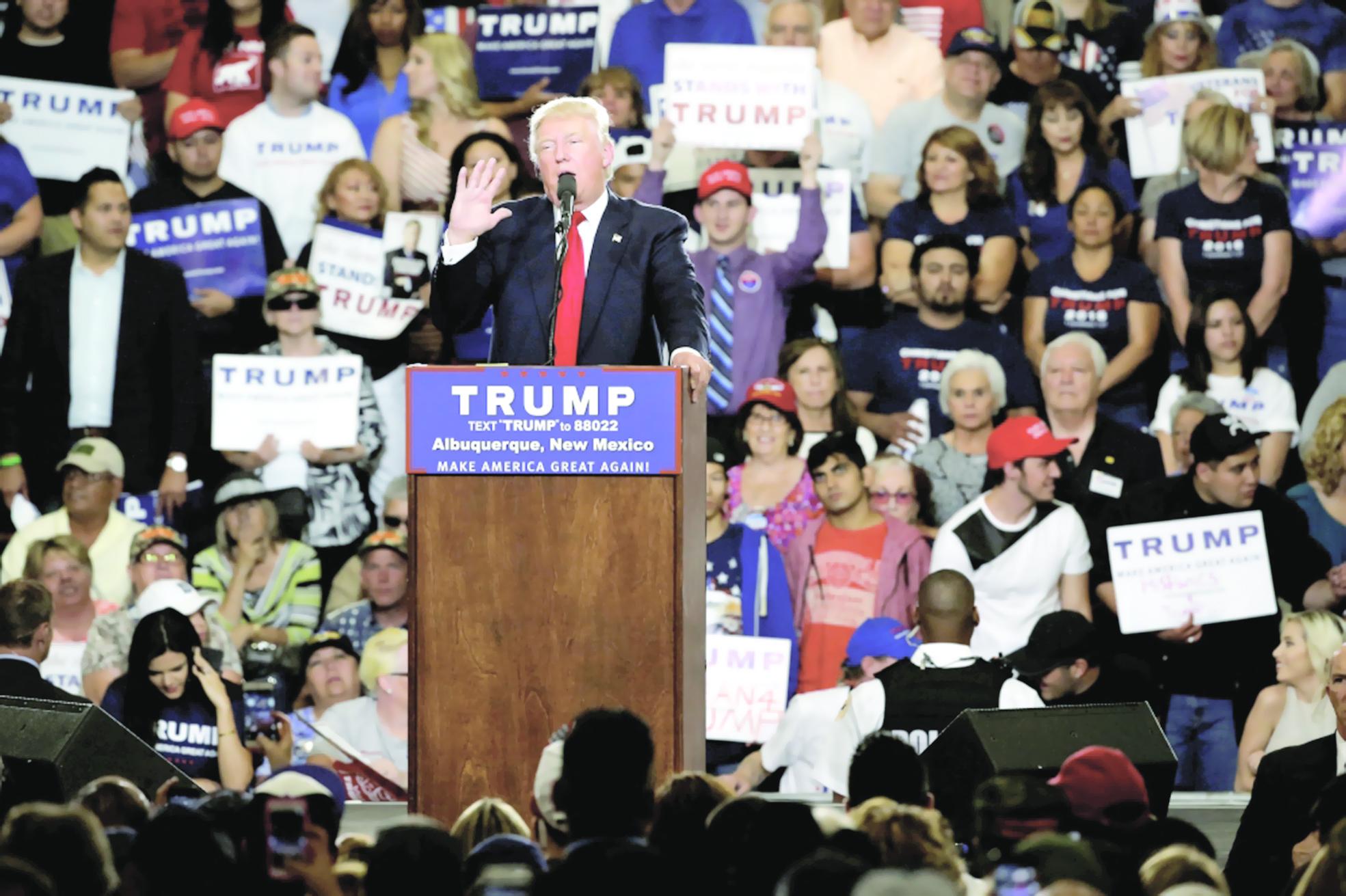 ترامب بين استمرار التقدم واستهداف تجمعاته
