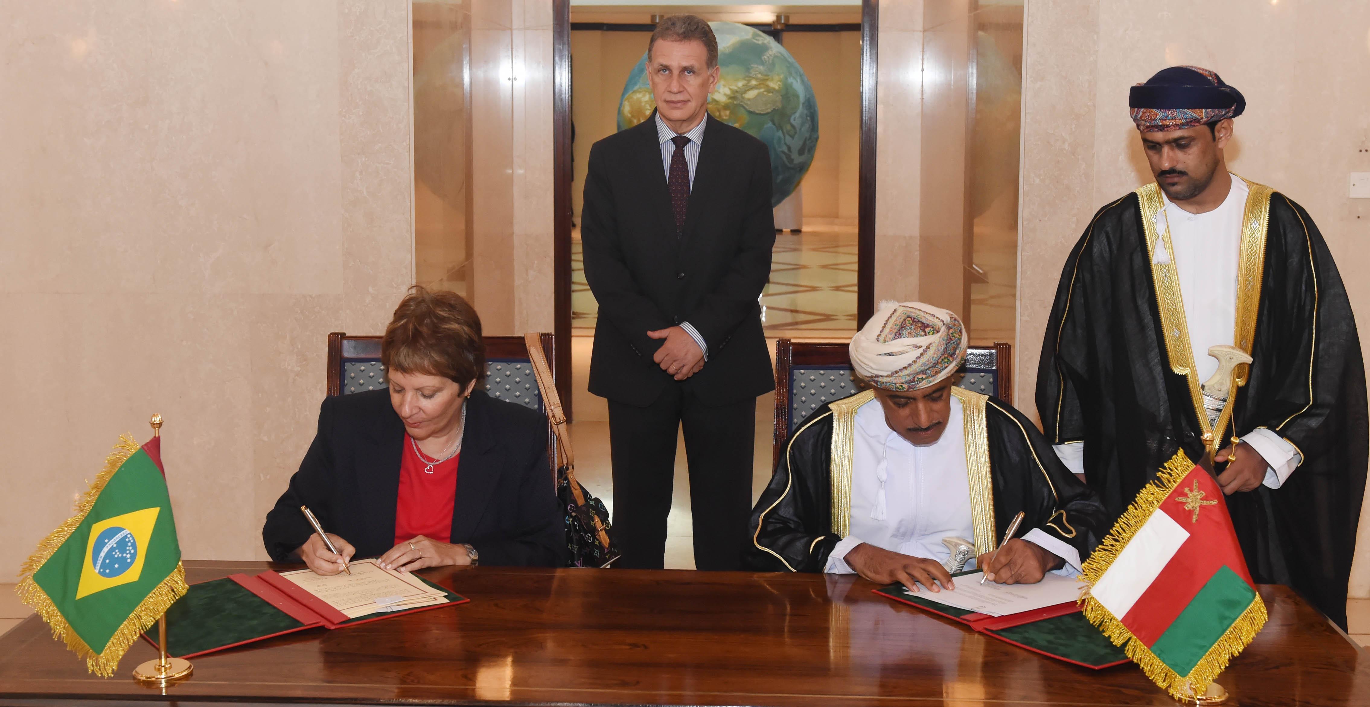 البرازيل تنوي ابرام إتفاقيات دعم وتسهيل التبادلالتجاري والإستثماري مع السلطنة