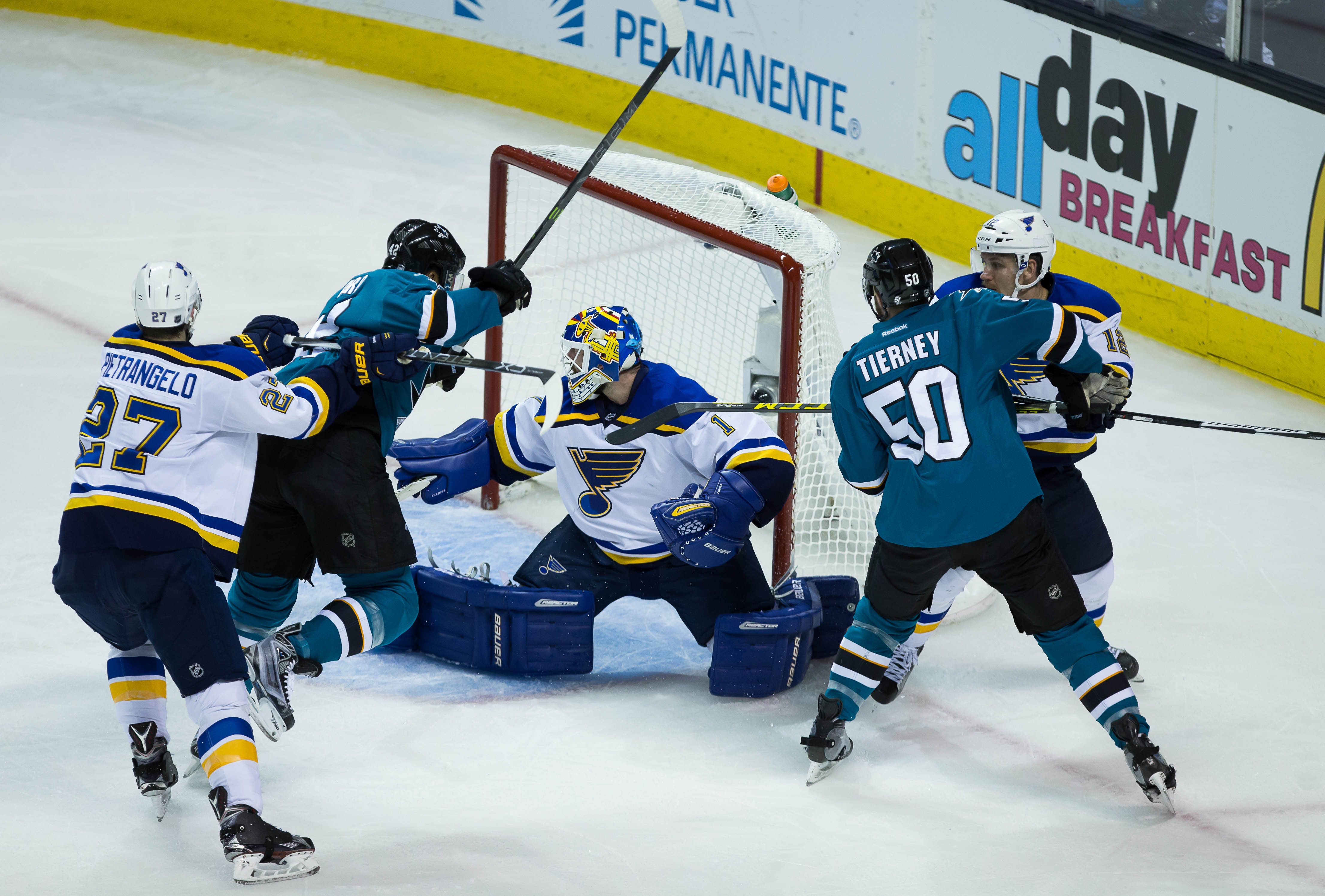 Sharks top Blues, advance to first Stanley Cup Final