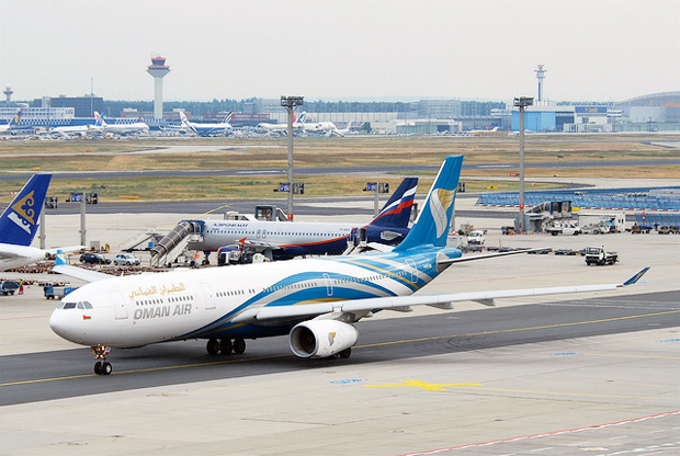 Bird strike delays Oman Air flight