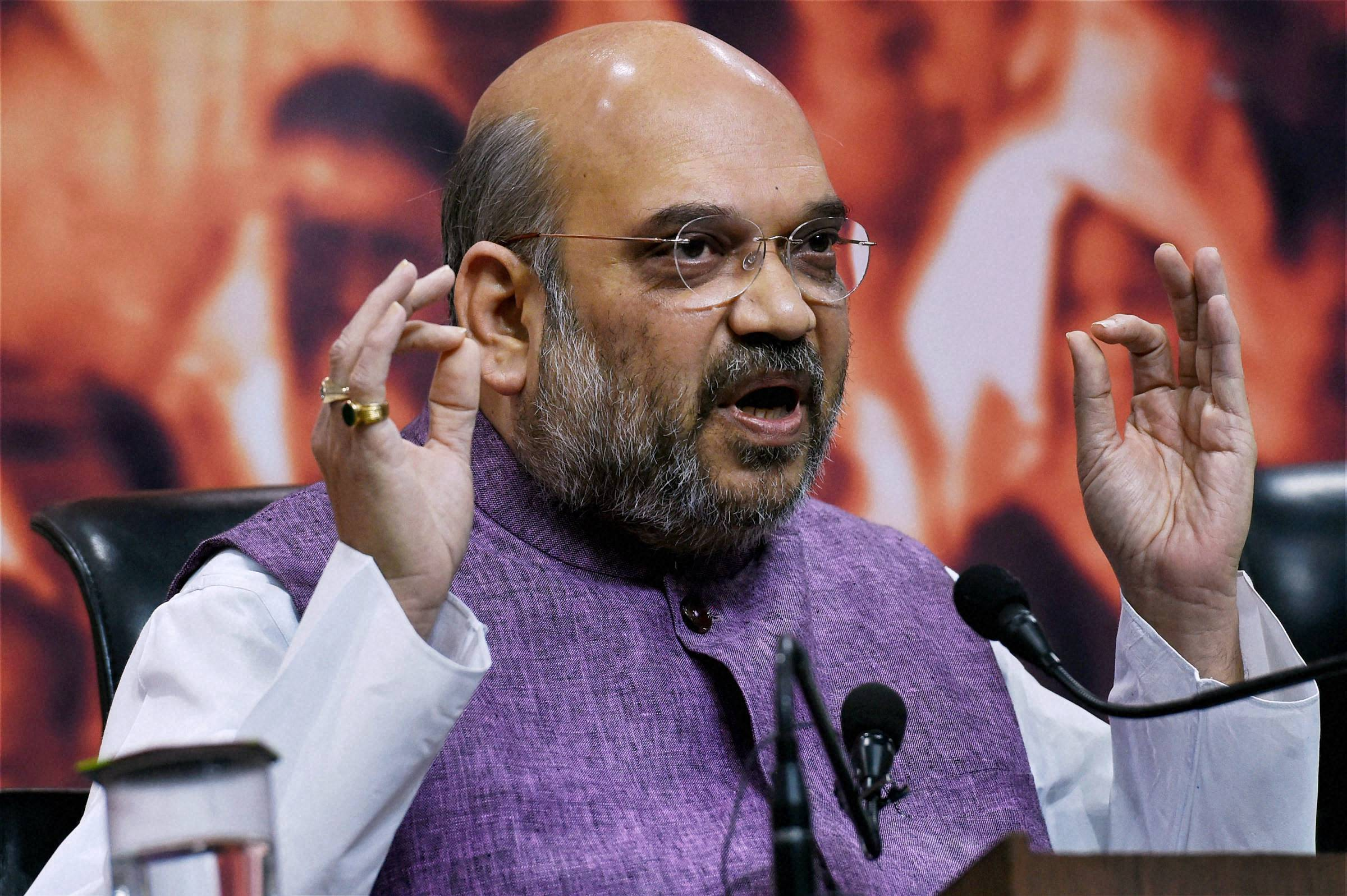 Modi government 'decisive', will fulfil all promises by 2019: Shah
