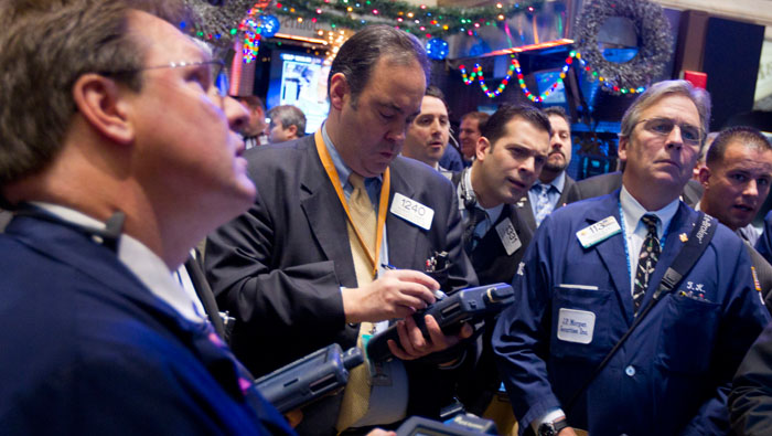 Federal Reserve reaction to data barrage is focus for stocks