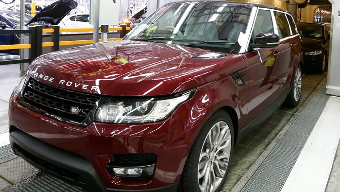Jaguar Land Rover sales help Tata to triple profit