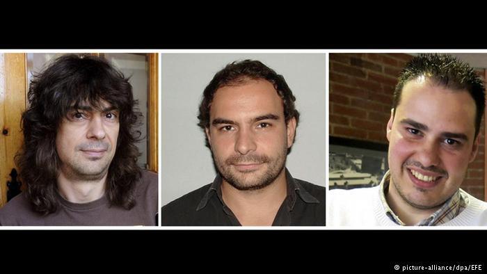الافراج عن ثلاثة صحافيين اسبان كانوا مخطوفين في سوريا