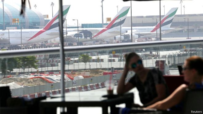 طائرة بدون طيار تتسبب في إغلاق مطار دبي البحث جار عن صاحبها