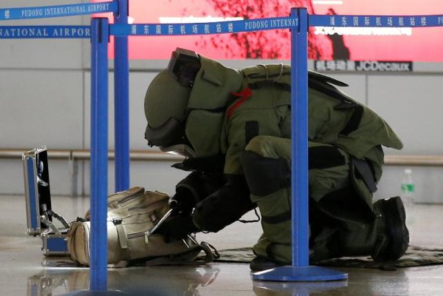 إصابة 3 على الأقل في انفجار بمطار بشنغهاي