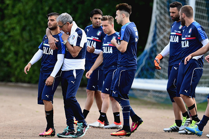 المنتخب الإيطالي يتفادى التدريب في ليون خوفا من الجواسيس